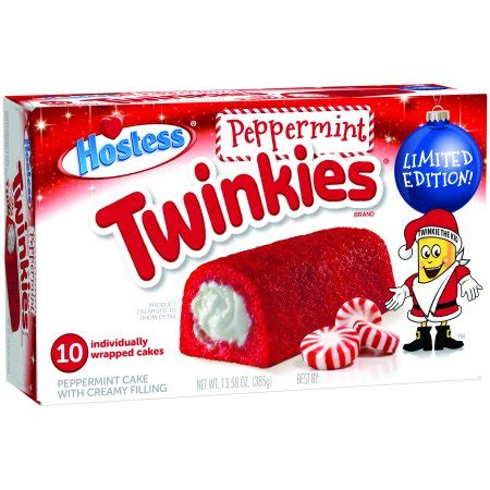 Hostess Holiday Peppermint Twinkies, 10 ct, 13