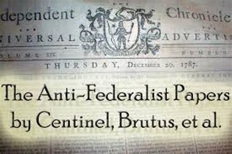 10 Facts about Anti-Federalists | Fact File