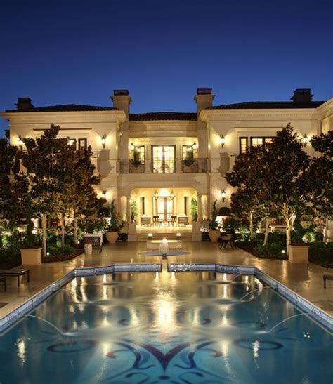 Spectacular Limestone Mansion In Los Angeles, CA | Homes
