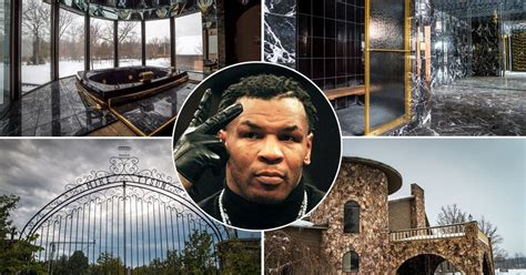 Iron Mike Tyson's knockout abandoned mansion: Tiger cages