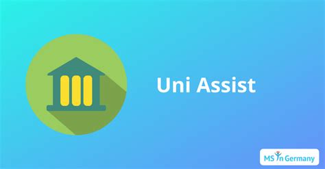 Uni Assist   MS in Germany