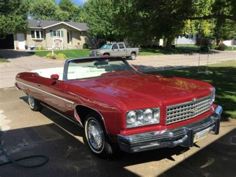1975 Chevrolet Caprice craigslist   Used Cars for Sale