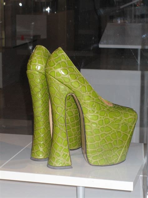 Crocodile Shoes | CC Note: Used to illustrate a news item