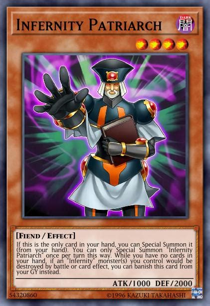 Infernity Patriarch   Decks and Tips   YuGiOh! Duel Links