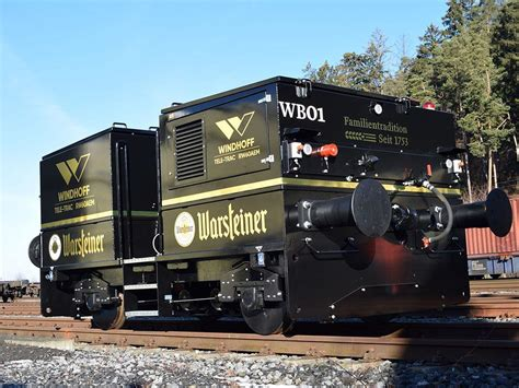 Brewery takes delivery of battery shunter | News | Railway