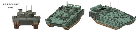 Leclerc T40 - Think Defence