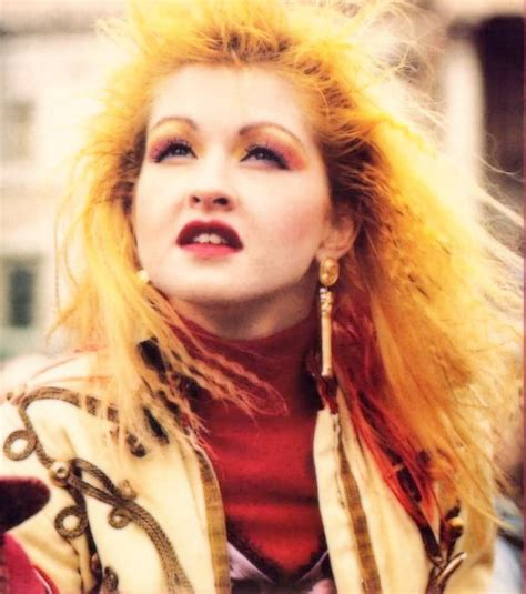 pics of cyndi lauper in the 80s