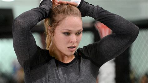 Ronda Rousey's first pro fight