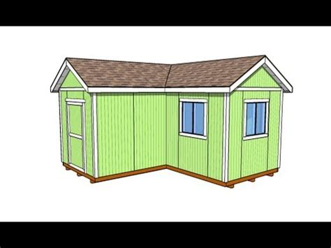 L-shaped Shed - YouTube
