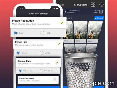 Photos Cleaner iPhone - Supprimer Photos Similaires et
