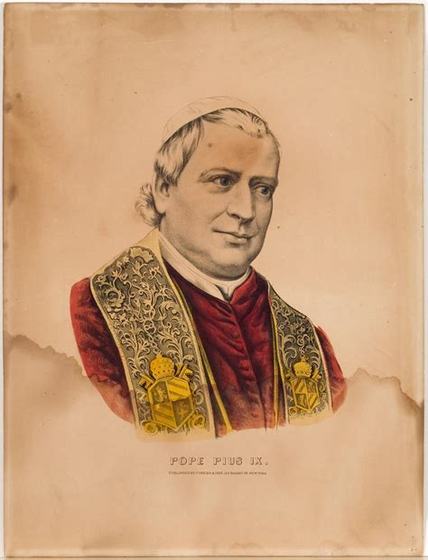 Pope Pius IX, Currier & Ives | Springfield Museums