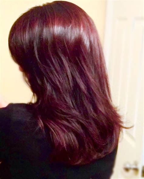 Red, Red wine! Red hair wella koleston perfect and redken