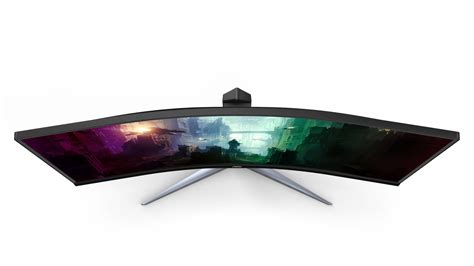 """AOC Launches 34"""" Ultra-Wide Curved Gaming Display for"""