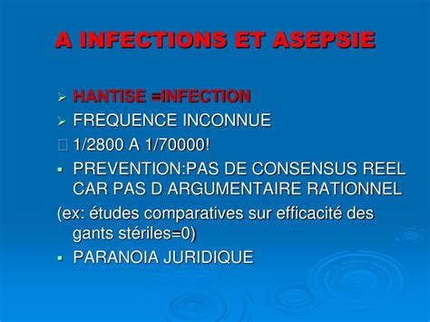 PPT - INFILTRATIONS : INJECTIONS LOCALES DE DERIVE