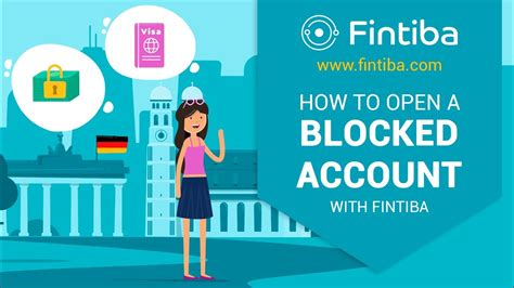 How to Open a Blocked Account with Fintiba - Plan for Germany