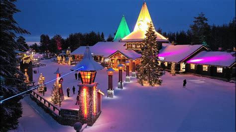 Santa Claus Village Father Christmas in Lapland Finland