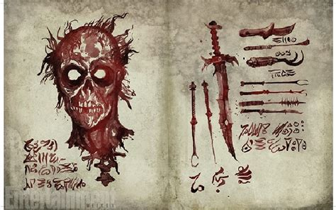 """Actual Pages From the Necronomicon From """"Ash vs"""